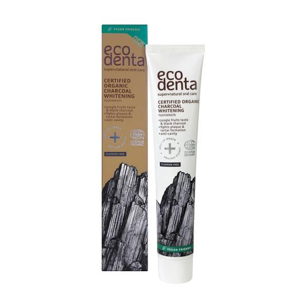 Bilde av ECODENTA Organic Whitening Toothpaste Charcoal