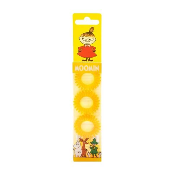 Bilde av Moomin Hair Ring Yellow 4 stk/pk
