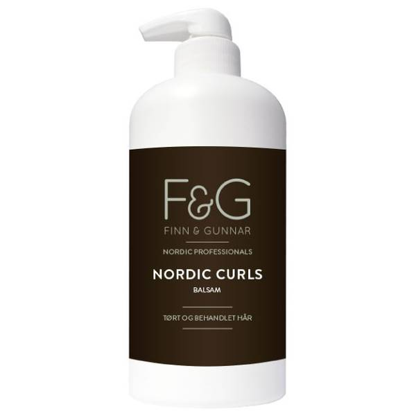 Bilde av F&G Nordic Professionals Curls Balsam 500 ml